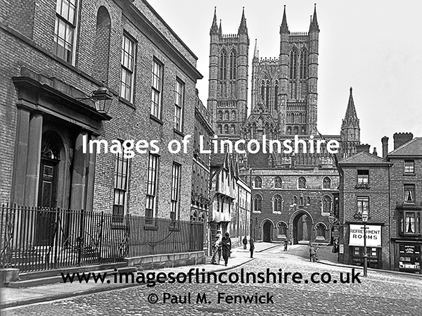 Castle_Square_Lincoln_in_Edwardian_Times
