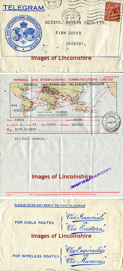 Telegram_Boyers_Grimsby_Fish_Docks_1932